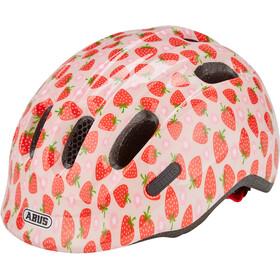 ABUS Smiley 2.1 Kask rowerowy Dzieci, czerwony